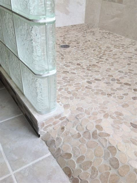 Barrier free ready for tile roll in shower base with