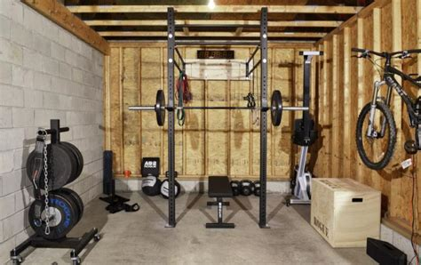 Garage Crossfit by W 4 Garage Custom Garage Set Up By Rogue Fitness