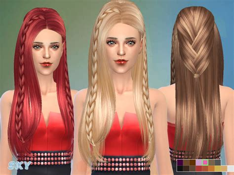 sims 4 custom content hairstyles sims 4 hairs the sims resource fashion braided