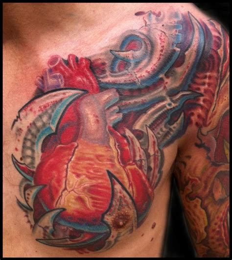 anatomical tattoo anatomical and bio mech by phil robertson