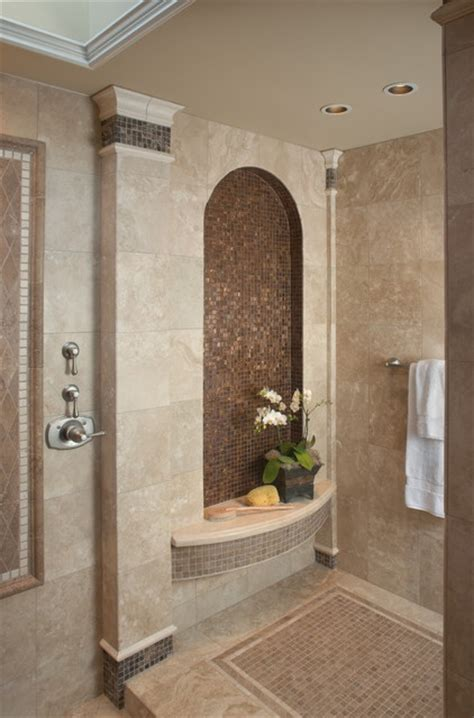 Bathroom Tile Ideas Houzz Fleming Master Bath Mediterranean Bathroom Other
