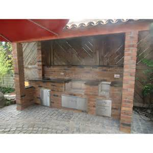 outdoork 252 che aus backstein mit fire magic einbau gasgrill