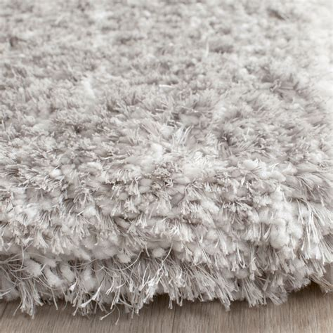 gray shag rug light grey shag toronto shag collection safavieh com