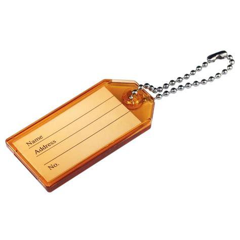 id tags shop the hillman plastic key id tag at lowes