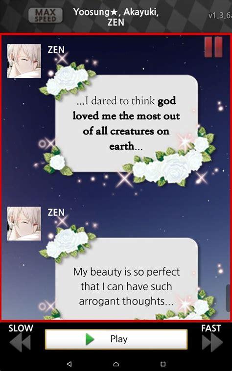 Kaos Zen Mystic Messenger Quotes 1000 images about mystic messenger on pretty
