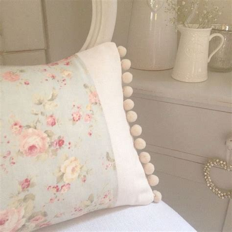 Sarung Bantal Sofa Cushion Cover Shabby Chic Blue Flower 134 best images about pillow talk on linen