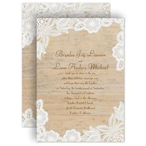rustic wedding invitations invitations by
