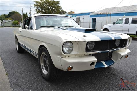 1965 ford mustang shelby gt 350 r model recreation