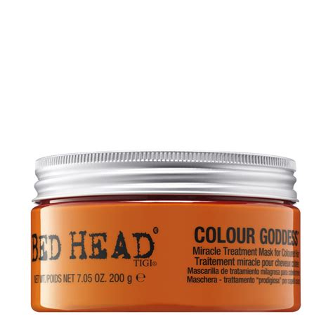 bed head colour goddess tigi bed head colour goddess miracle treatment mask 200g