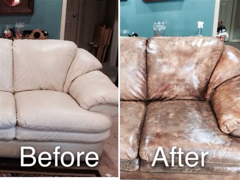 Pin By Stacy Bernard On Quot My Creations Quot Pinterest Paint For Leather Sofa