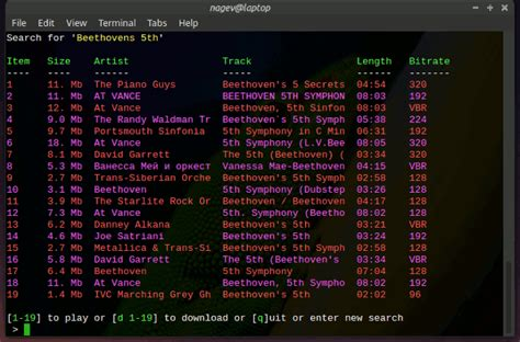 testo dumb nirvana linux terminal poor s spotify linuxaria