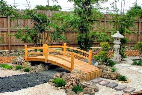 imagenes de jardines estilo japones puente de madera para jardin para estanque modelos tipos