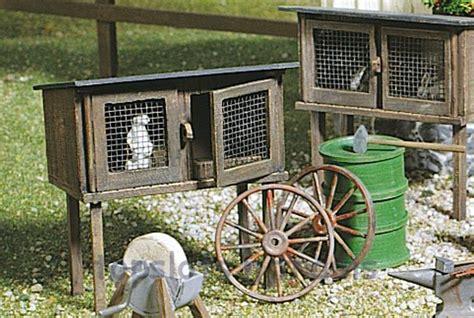 Garden Railway Accessories G Scale Rabbit Hutch Pola 333209 At Topslots N Trains