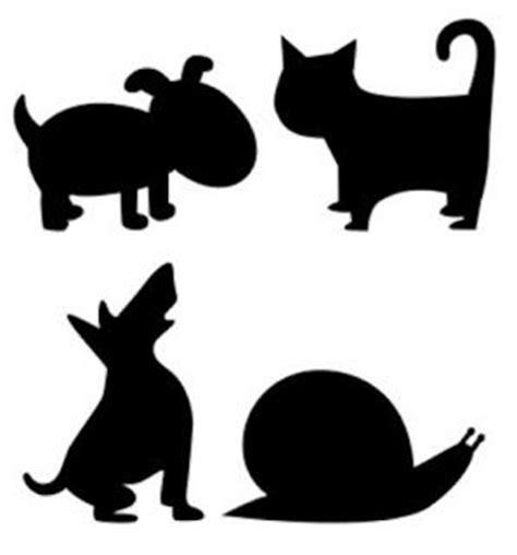 imagenes siluetas negras animales on pinterest