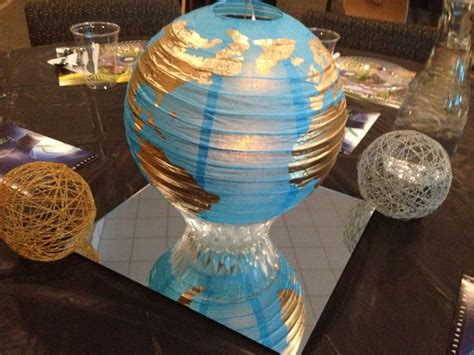 10 Images About Missionary Banquet Decorating Ideas On World Globe Centerpieces