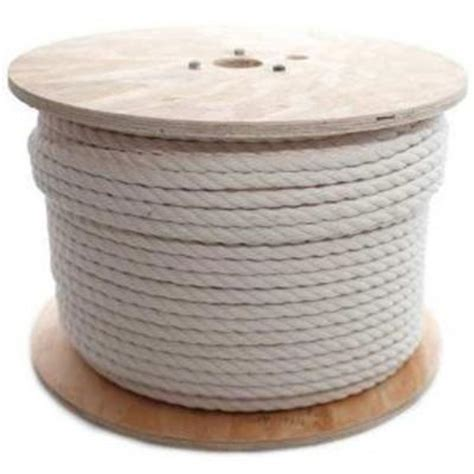 Cotton Rope Home Depot boen 1 2 in x 600 ft cotton ropes br 2065 the home depot