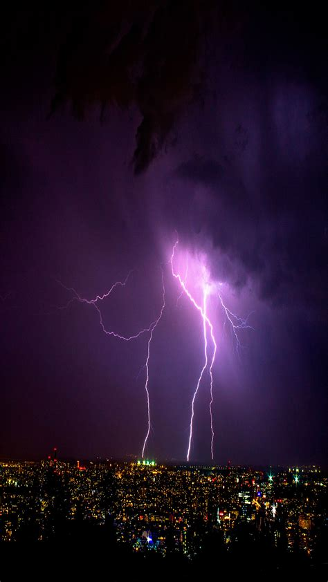 lightning wallpaper  iphone  pro max