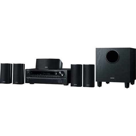 onkyo ht s3700 5 1 channel home theater system ht s3700 b h