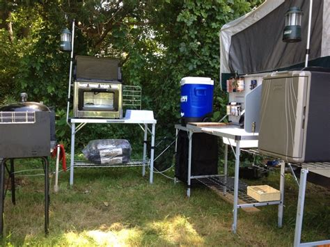 Camper Trailer Kitchen Ideas by 376 Best Images About Camping On Pinterest Stove Tent