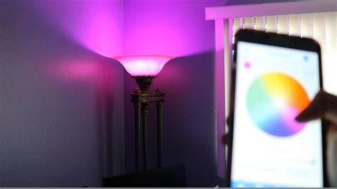 light bulb that changes color with the light bulb that changes color remotely from your