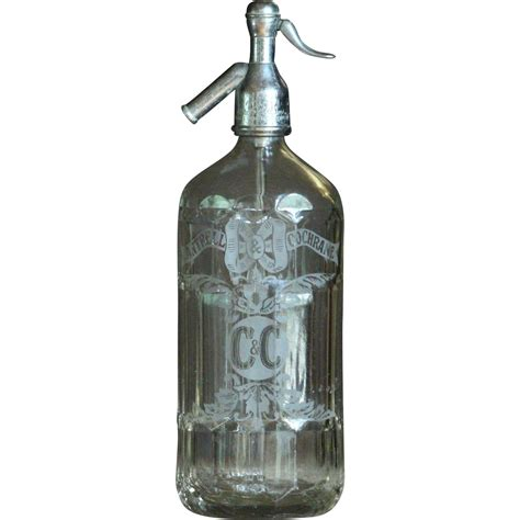 fashion sipon vintage cantrell cochrane soda water syphon seltzer