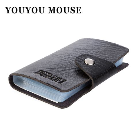 Wholesale Case Of 300 Pieces Men S Big Buck Wear - 1pcs free shipping men s women leather credit card holder