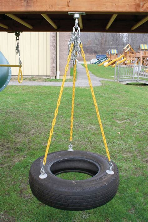 how to hang a tire swing from a tall tree how to make your own safe backyard tire swing