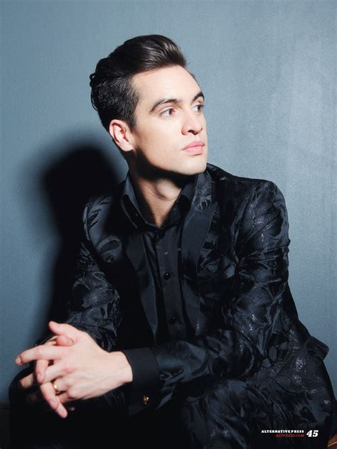 brendon urie brendon urie on ap 330 article fall out boy etc