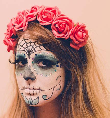 beauty diy: how to do day of the dead / dia de los muertos