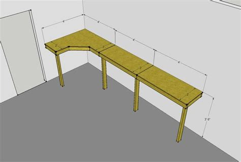 cheap work bench cheap and easy garage workbench