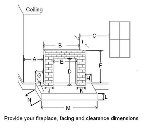 standard fireplace size wood fireplace mantels fredricksburg custom mantels