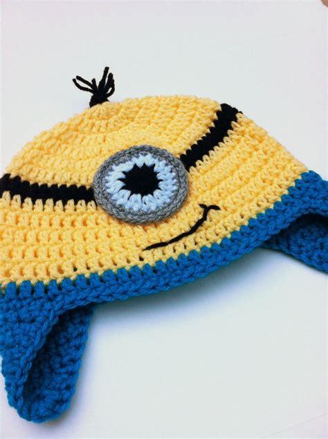 pattern crochet minion hat tutorial crochet minion hat things i want to crochet
