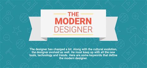 Characteristics Of Modern Media Technology by Infographic 11 Characteristics Of A Modern Designer