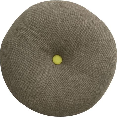 Circle Of Pillows by Button Up Chartreuse Circle Pillow Modern Decorative