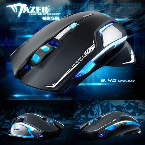 Mouse Eblue Mazer e blue mazer ii wireless gaming mouse specificaties