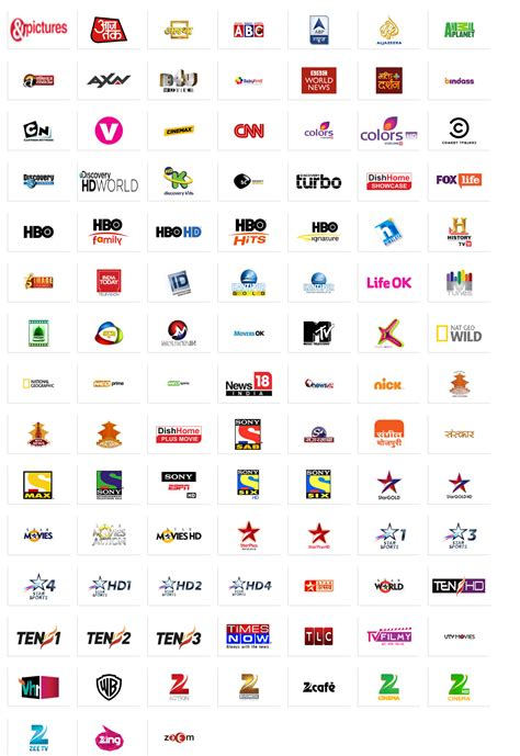 tv channels dish tv channel list www pixshark images galleries