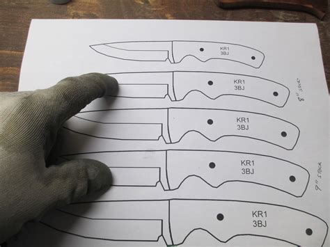 knife patterns diy knifemaker s info center knife patterns