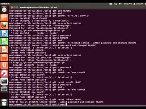 git tutorial in linux linux tutorials how to command and use git youtube