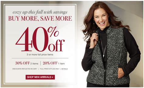 Christopher And Banks Gift Card - christopher and banks coupon save up to 40 off women s clothing