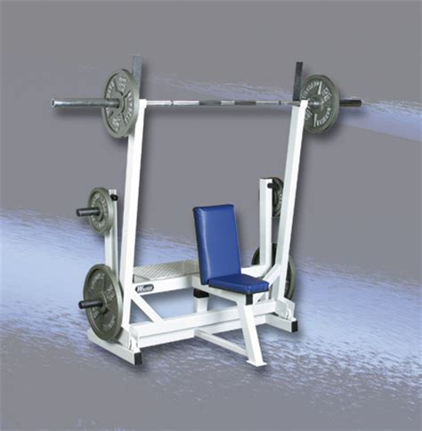 self spotting weight bench all american free weight self spotting shoulder press