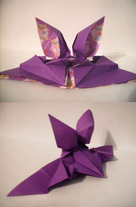 Origami Prism - origami bat by tiger prism on deviantart