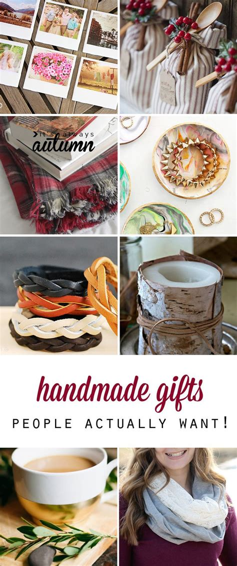 Great Handmade Gifts - 25 amazing diy gifts that will actually want
