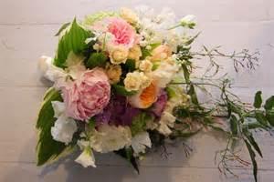 Garden Wedding Flower Arrangements The Flower Magician Country Garden Wedding Bouquet