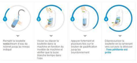 Machine à Gazéifier L Eau Du Robinet by Sodastream Cylindre De Recharge De Gaz Co2 Pour Machine 224