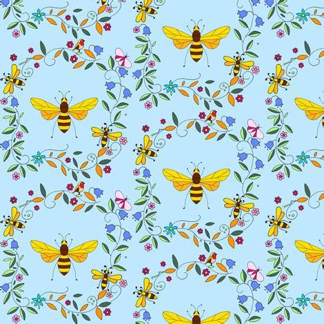 bumbleblue fabric de ann_black spoonflower