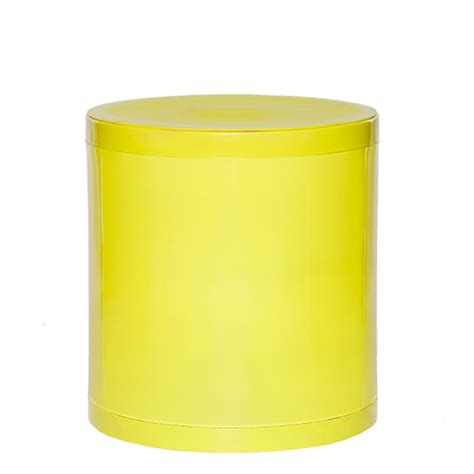 Greenish Yellow Stool by Otto Storage Stool Solid Lime Green