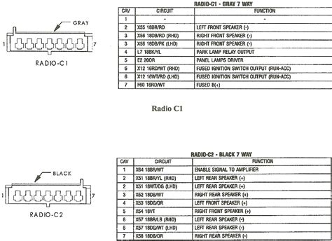 jeep factory stereo wiring diagrams wiring