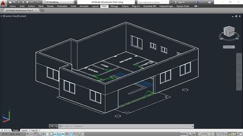 autocad 2007 tutorial pdf bangla 3d house model part 8 autocad basic 2d 3d bangla