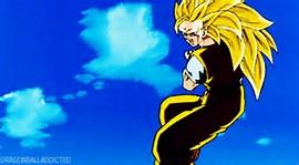 Dragon Ball Z Super Saiyan GIF