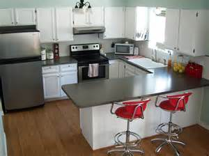 The only thing that changed was the paint on the cabinets and walls